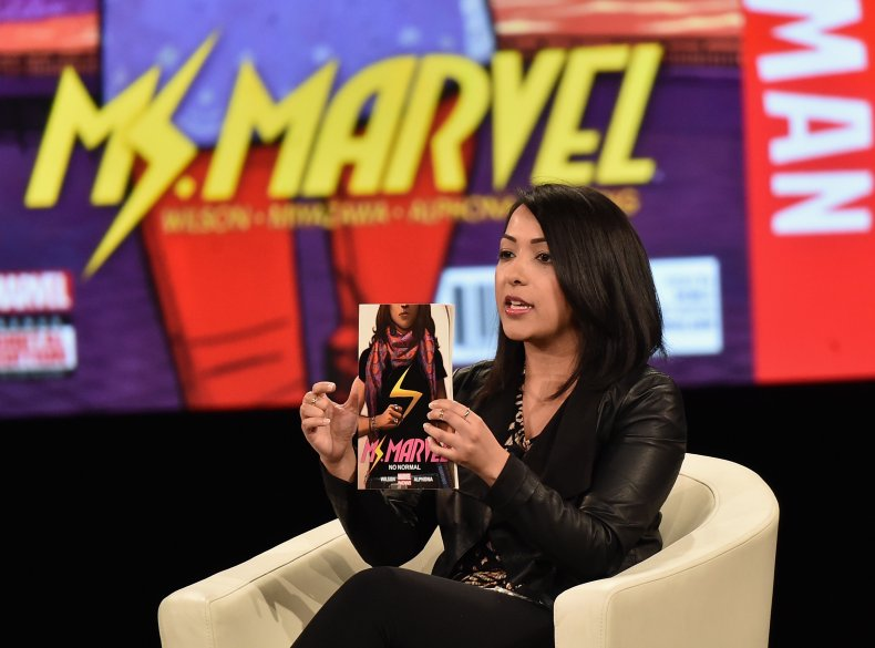 Ms. Marvel co-creator Sana Amanat
