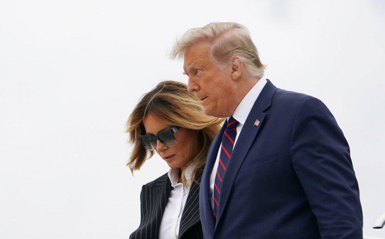 us president donald trump first lady melania