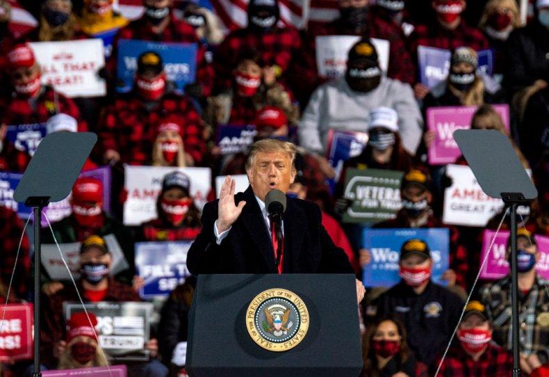 Trump Minnesota Duluth