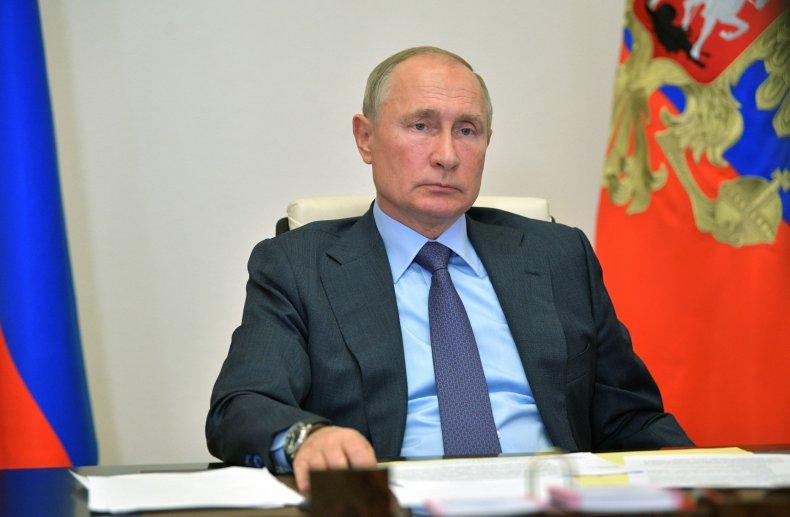 Vladimir Putin, Donald Trump, coronavirus, recovery, message