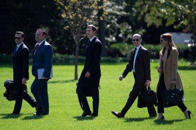 White House officials advisers September 2020