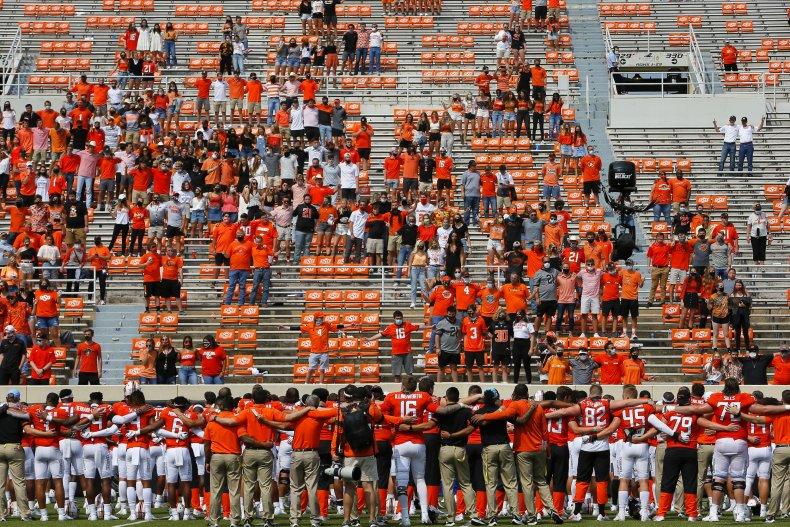 Oklahoma State Cowboys football game September 2020