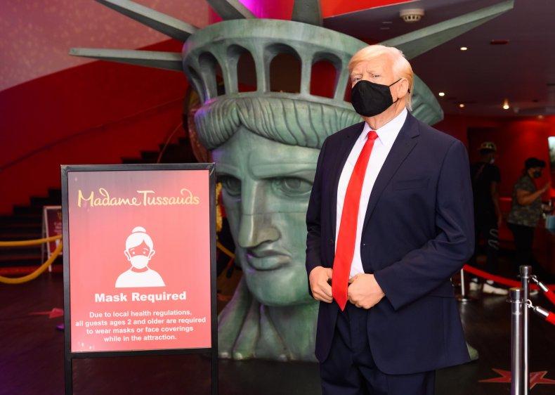 Trump Wax Figure