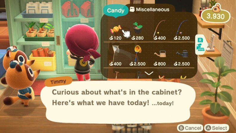 animal crossing october update candy