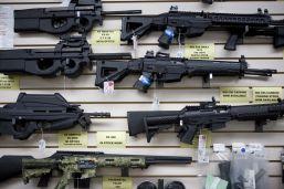 Gun store in Texas