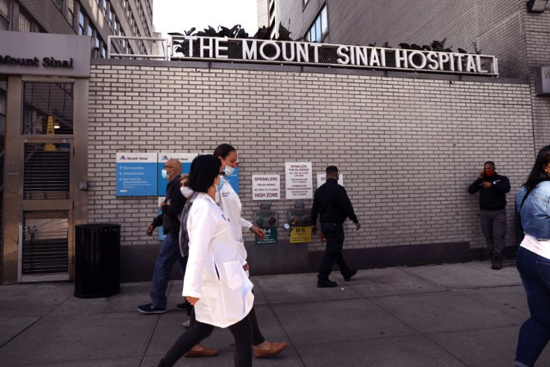 Mount Sinai Hospital New York