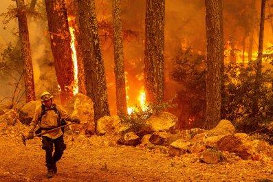 Glass Fire California Calistoga October 2020