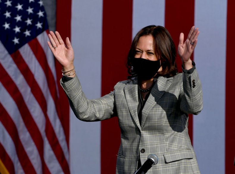 Democratic Senator Kamala Harris