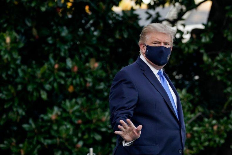 President Trump Leaves the White House