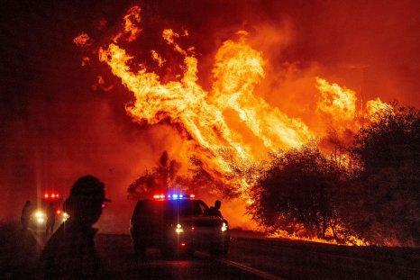 Bear Fire California September 2020
