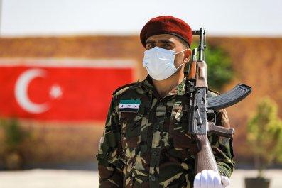 syria, rebel, turkey, flag