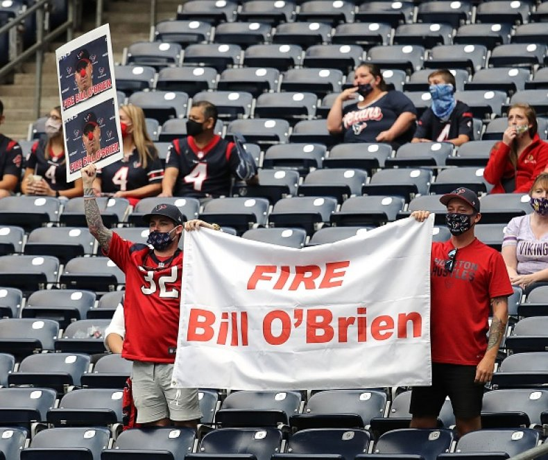 Bill O'Brien Houston Texans