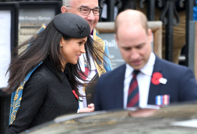 Meghan Markle and Prince William, Anzac Day