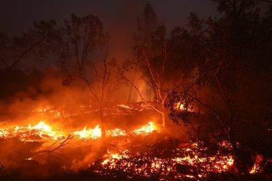 Glass Fire California October 2020