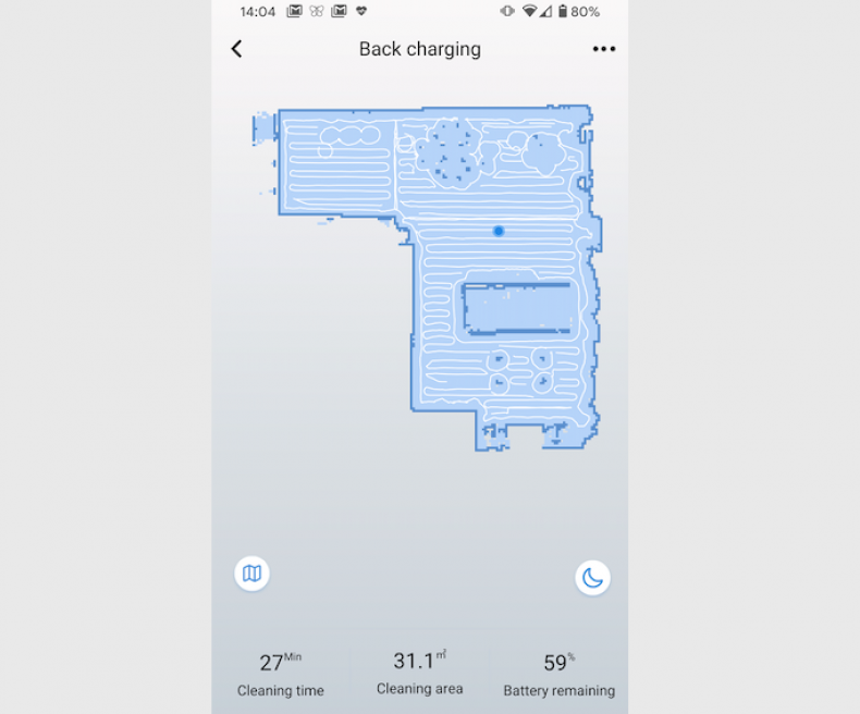 Tesvor WeBack app screenshot