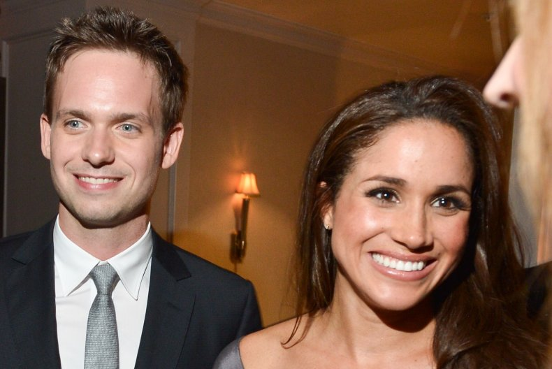 Meghan Markle and Patrick J. Adams, Suits