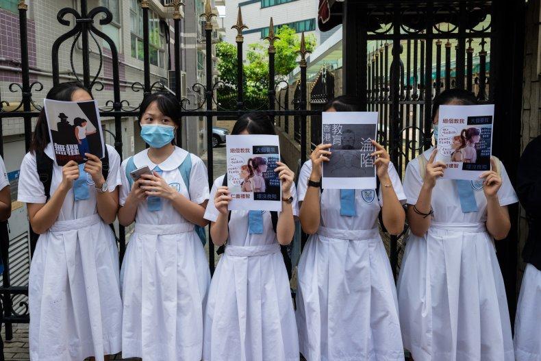 Hong Kong Students Pro-Democracy