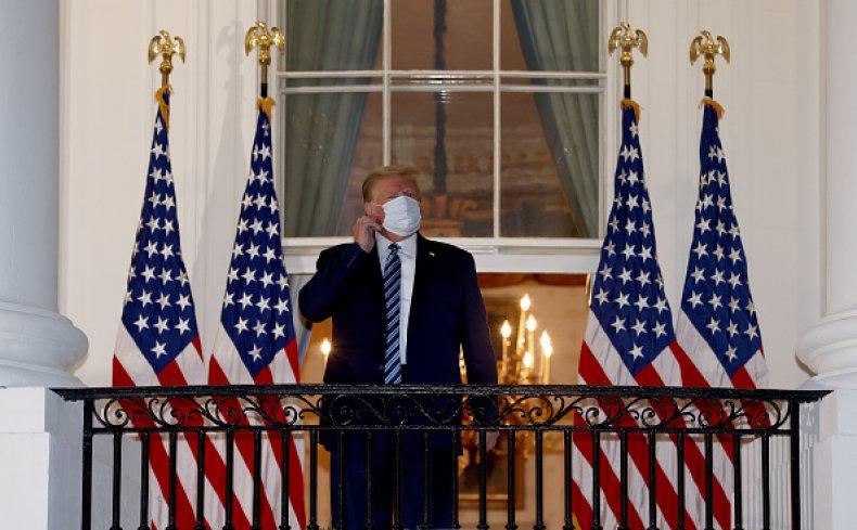 Trump White House Mask