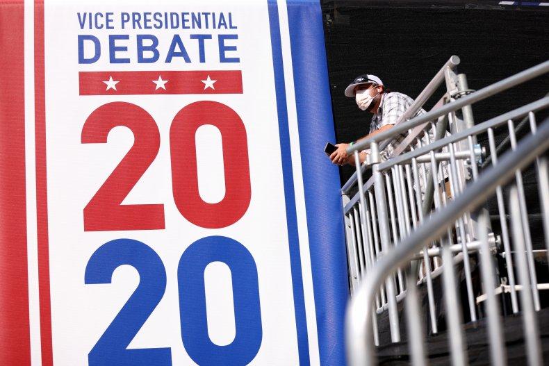 mike pence kamala harris debate poll