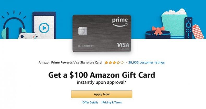 Amazon 2020 Prime Day Bonus Credit Card