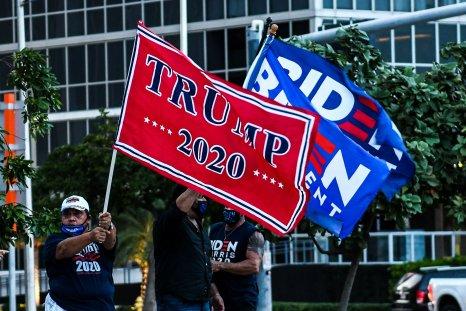 2020 election, donald trump, joe biden, getty
