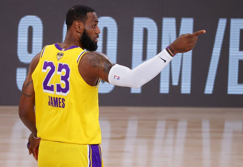 LeBron James, NBA, Los Angeles Lakers
