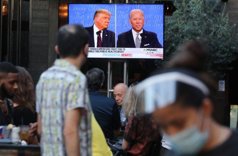 donald trump, joe biden, getty, 2020 election,debate