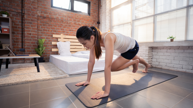 Sauna Blanket and Heated Yoga Mat