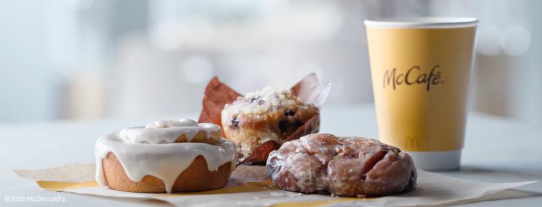 McDonald's Bakery Lineup