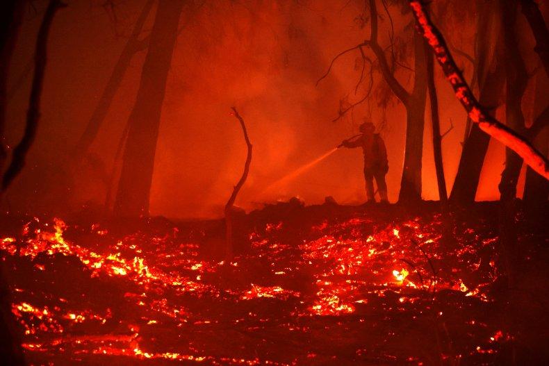 Glass Fire California wildfire October 2020