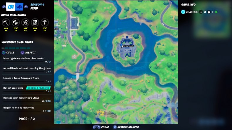 fortnite cobweb location 3 map