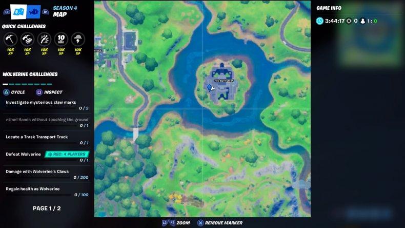 fortnite cobweb location 4 map