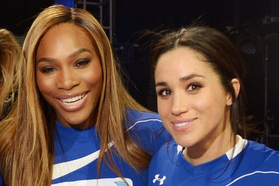 Serena Williams and Meghan Markle, Beach Bowl