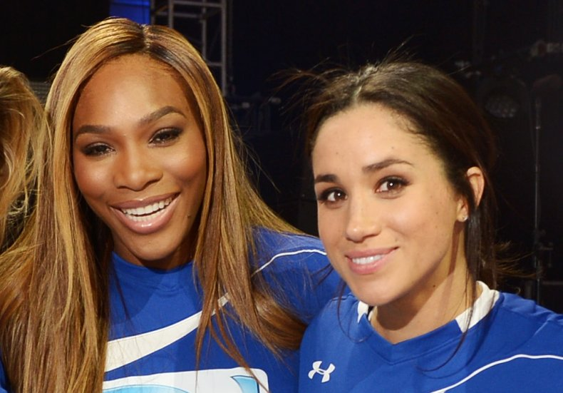 Serena Williams and Meghan Markle, Beach Bowl