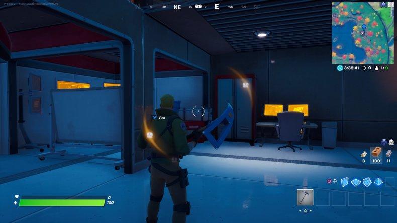 fortnite tony stark lake house laboratory gameplay