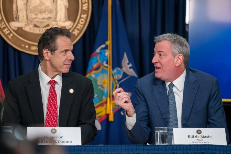 Governor Andrew Cuomo and Mayor Bill deBlasio