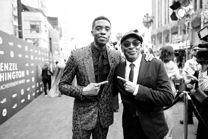 Chadwick Boseman Spike Lee