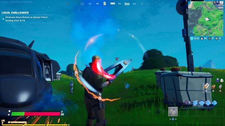 fortnite storms whirlwind blast drones