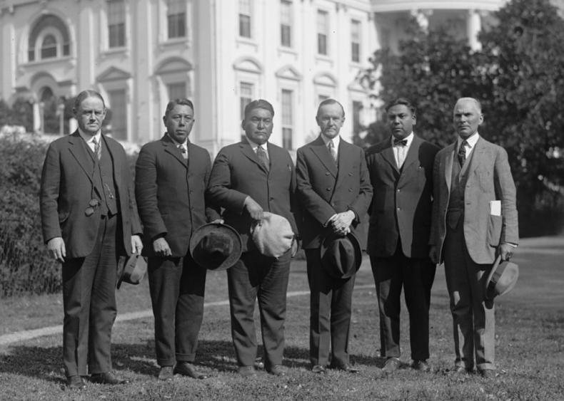1925: Indian Delegation invites Coolidge to Northwest Indian Congress