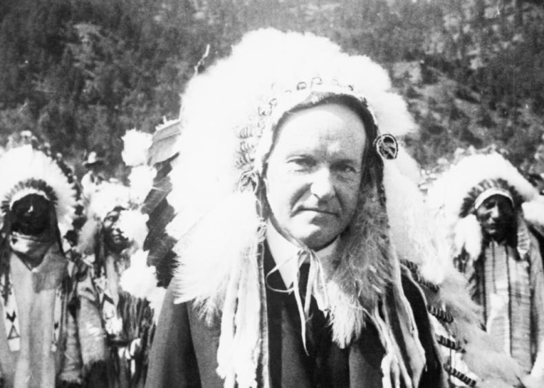 1927: Chief Leading Eagle