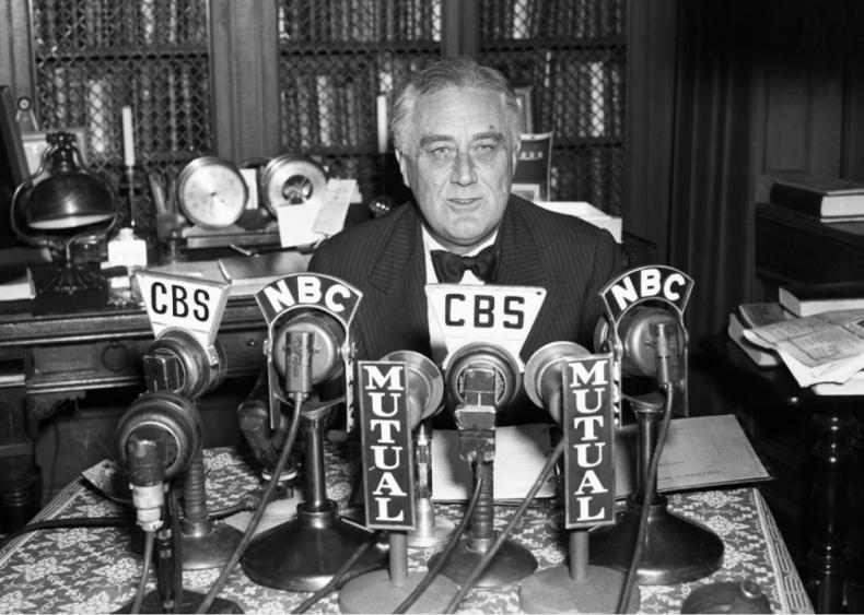 1938: Radio address on election night