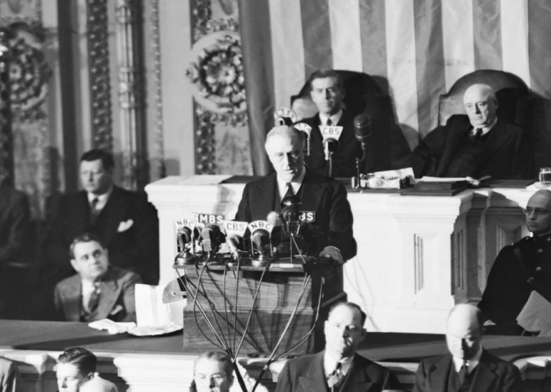 1941: Declaring a state of war