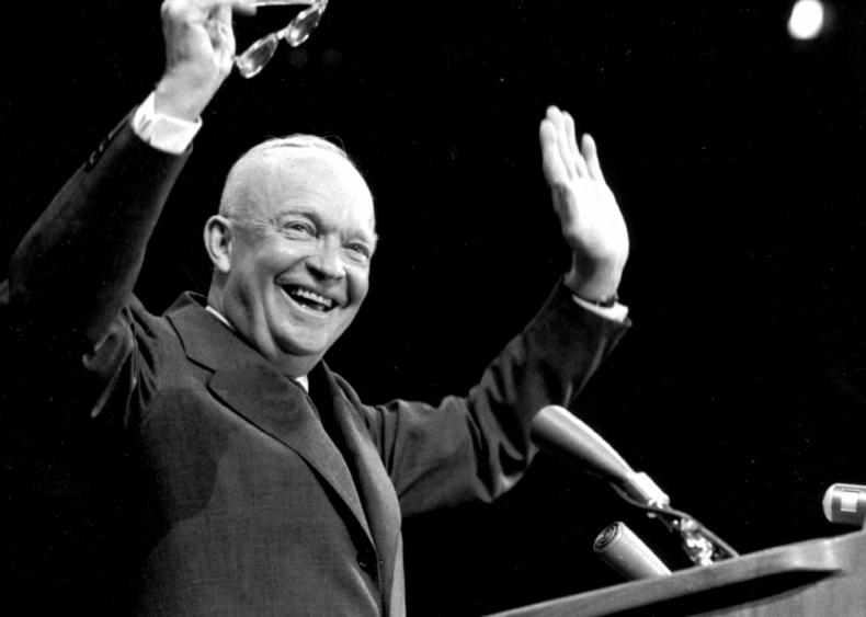 1956: They still like Ike
