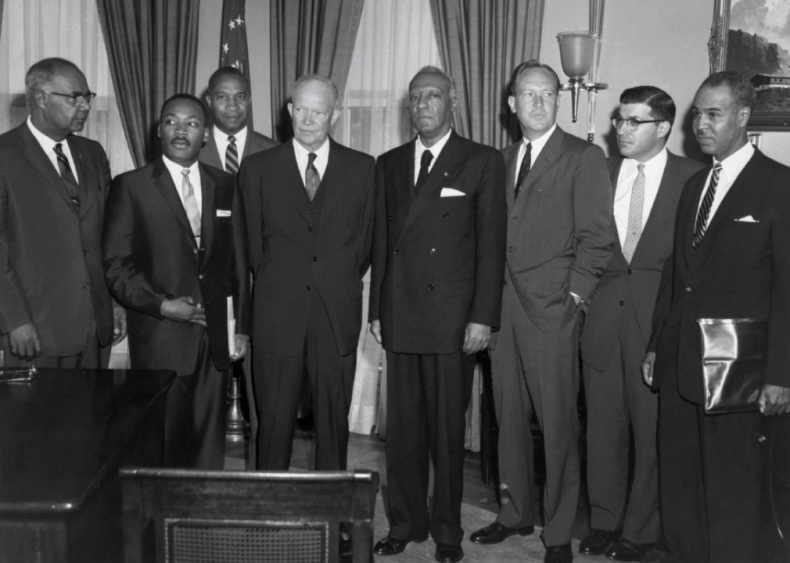 1958: Eisenhower meets with civil rights leaders