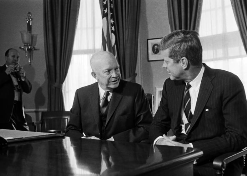 1960: Eisenhower and Kennedy
