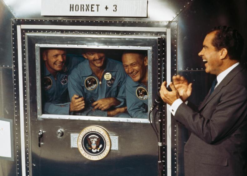 1969: Presidential approval