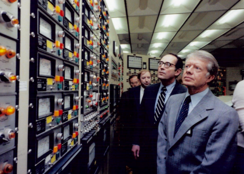 1979: President Carter in the Three Mile Island Control Room