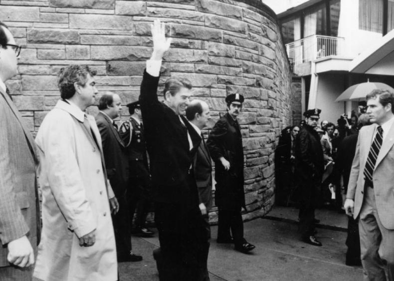 1981: An assassination attempt