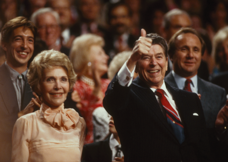1988: Thumbs up at the RNC