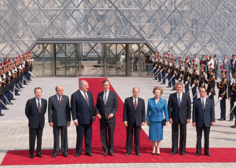 1989: G7 World Leaders at economic summit